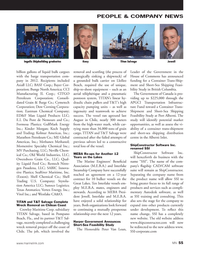 Marine News Magazine, page 55,  Aug 2013 Honorable Peter Van Loan