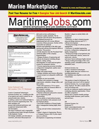 Marine News Magazine, page 59,  Aug 2013 control systems