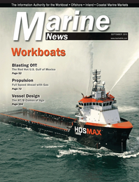 Marine News Magazine Cover Sep 2013 - Workboat Annual