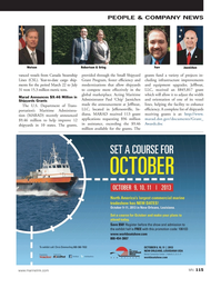 Marine News Magazine, page 115,  Sep 2013 U.S. Department of Trans
