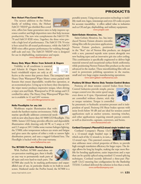 Marine News Magazine, page 121,  Sep 2013 tension control applications