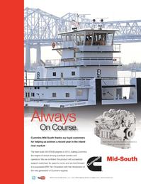 Marine News Magazine, page 2nd Cover,  Sep 2013