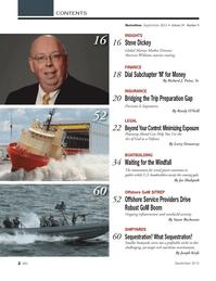 Marine News Magazine, page 2,  Sep 2013