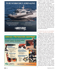 Marine News Magazine, page 50,  Sep 2013 Gulf of Mexico