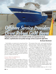 Marine News Magazine, page 52,  Sep 2013 Susan Buchanan Offshore