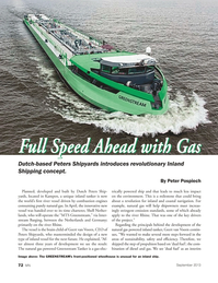 Marine News Magazine, page 72,  Sep 2013 Inland Shipping