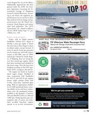 Marine News Magazine, page 75,  Sep 2013 pure gas engine