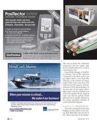 Marine News Magazine, page 76,  Sep 2013 gas engines