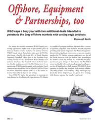 Marine News Magazine, page 78,  Sep 2013 Joseph Keefe Offshore