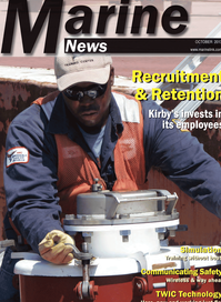 Marine News Magazine Cover Oct 2013 - Manning: Recruitment & Retention
