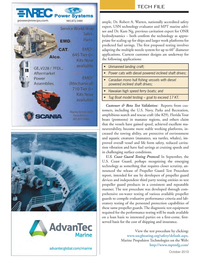 Marine News Magazine, page 20,  Oct 2013 propeller guard products