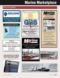 Marine News Magazine, page 63,  Oct 2013