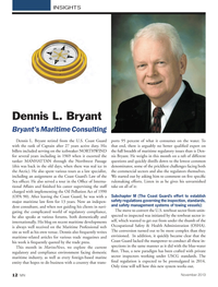 Marine News Magazine, page 12,  Nov 2013 United States