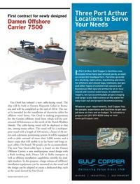Marine News Magazine, page 19,  Nov 2013 electricity cables