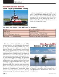 Marine News Magazine, page 20,  Nov 2013 Lake Charles