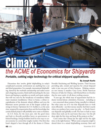 Marine News Magazine, page 46,  Nov 2013 Welding Systems