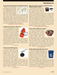 Marine News Magazine, page 53,  Nov 2013 bus networking