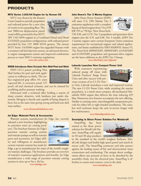 Marine News Magazine, page 54,  Nov 2013 European Union