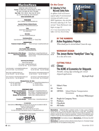 Marine News Magazine, page 4,  Nov 2013 Nicole Ventimiglia