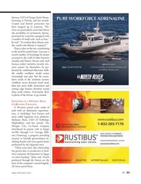Marine News Magazine, page 31,  Dec 2013 Shehraze Shaw