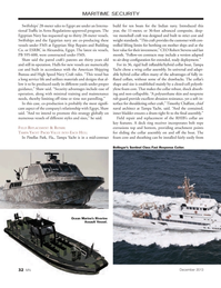 Marine News Magazine, page 32,  Dec 2013 Robert Stevens