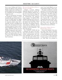 Marine News Magazine, page 33,  Dec 2013 Todd Salus
