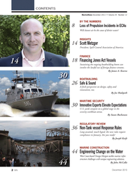 Marine News Magazine, page 2,  Dec 2013 Joe Hudspeth