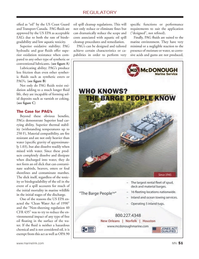 Marine News Magazine, page 51,  Dec 2013 free oil