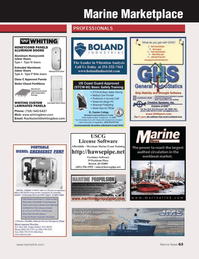 Marine News Magazine, page 63,  Dec 2013