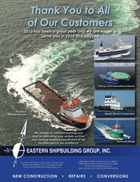 Marine News Magazine, page 1,  Jan 2014