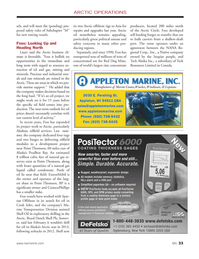 Marine News Magazine, page 33,  Jan 2014 Prudhoe Bay