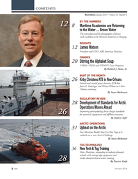 Marine News Magazine, page 2,  Jan 2014