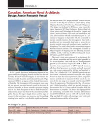 Marine News Magazine, page 48,  Jan 2014 Federal Government of Australia