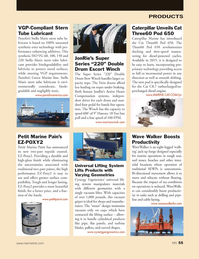 Marine News Magazine, page 55,  Jan 2014 synthetic ester technology