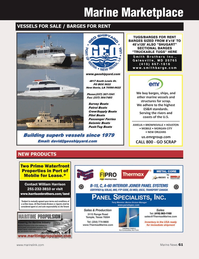 Marine News Magazine, page 61,  Jan 2014 United States