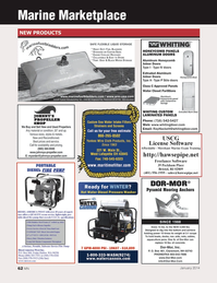 Marine News Magazine, page 62,  Jan 2014 Extruded Alum Door USCG License Software