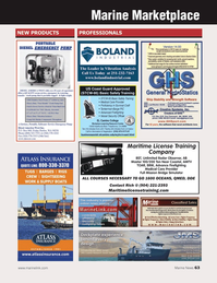 Marine News Magazine, page 63,  Jan 2014 Unlimited Radar Observer AB