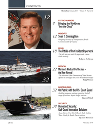 Marine News Magazine, page 2,  Feb 2014