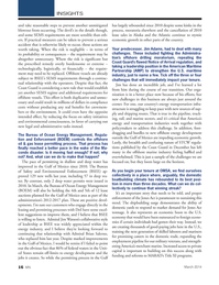 Marine News Magazine, page 16,  Mar 2014 Bureau of Safety and Environmental Enforcement