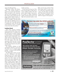 Marine News Magazine, page 39,  Mar 2014 Palmer Power