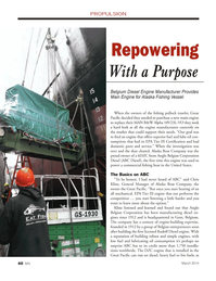Marine News Magazine, page 40,  Mar 2014 oil consumption