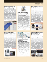 Marine News Magazine, page 55,  Mar 2014 oxidized paint surfaces