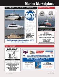 Marine News Magazine, page 61,  Mar 2014 Freelance Software