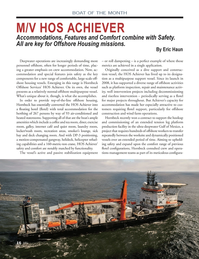 Marine News Magazine, page 16,  Apr 2014 Eric HaunApril