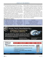 Marine News Magazine, page 18,  Apr 2014 monohull solution