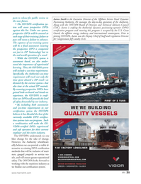 Marine News Magazine, page 21,  Apr 2014 Directors and Technical Advisory Council