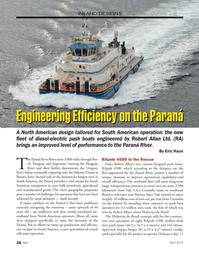 Marine News Magazine, page 26,  Apr 2014 Uruguay river