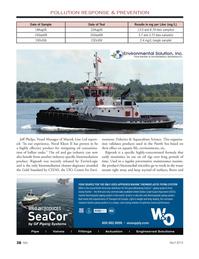 Marine News Magazine, page 38,  Apr 2014 North Sea