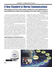 Marine News Magazine, page 48,  Apr 2014 KVH??s