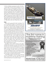 Marine News Magazine, page 49,  Apr 2014 broadband network